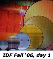 IDF Fall 2006, day 1, Quad Core ma non solo