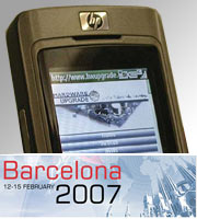 3GSM 2007: la parola alla telefonia mobile