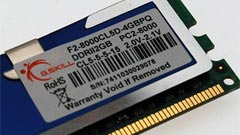 G.Skill DDR2-1000: 4GB di memoria in un kit