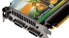 NVIDIA GeForce 9800GTX potenza a basso consumo