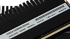 Corsair DDR3 Dominator 2 GHz, solo per appassionati