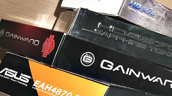Comparativa Radeon HD 4870, quattro schede a confronto