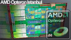 AMD Opteron Istanbul: CPU a 6 core per i server