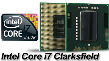 Intel Core i7 Clarksfield: Nehalem anche nei notebook