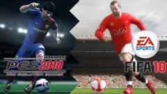 Anche quest'anno si ripropone la storica sfida: Fifa VS Pes