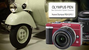 Olympus E-PL1 PEN: primi scatti dal Photoshow 2010