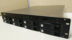 QNAP TS-809U-RP, lo storage in formato rack