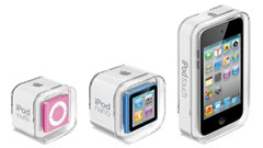 Apple: iPod nano con multitouch e iPod touch con retina display