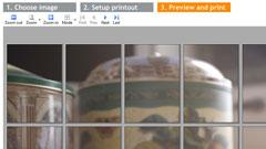 Image Print Wizard: stampa di grande formato su A4