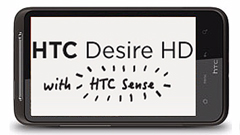 HTC Desire HD: foto, video su display da 4,3 pollici