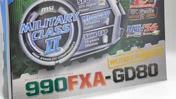 MSI 990FXA-GD80: la prima scheda socket AM3+