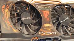 Gigabyte GeForce GTX 560 Ti Super OC, 1000MHz di GPU