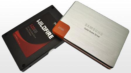 SSD Samsung 470 e Patriot Wildfire, 3 e 6Gbps a confronto