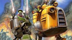 Le battaglie robotiche, i mech e le esplosioni di Gatling Gears