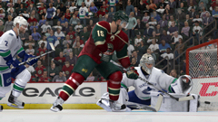 NHL 12: welcome to Los Angeles, California, it's hockey time!