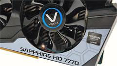 Sapphire HD 7770 Vapor-X: overclock in silenzio