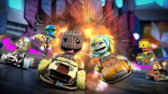 LittleBigPlanet Karting: pupazzi di pezza su quattro ruote