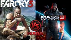Far Cry 3 o Mass Effect 3 come miglior gioco dell'anno?