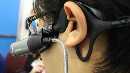 Panasonic, novità video: videocamera indossabile e livella automatica