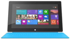 Microsoft Surface RT al debutto in Italia