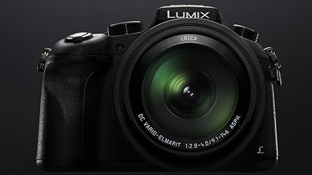 Panasonic Lumix FZ1000, bridge super-zoom con sensore MAXI