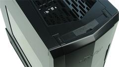 SilverStone Raven RV05-W: il computer è ruotato di 90 gradi