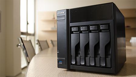 Asustor AS-204TE, 4 unità disco per tutti i dati della casa