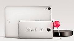 Nexus 6 e Nexus 9, i due nuovi giocattoli di Google in salsa Android Lollipop