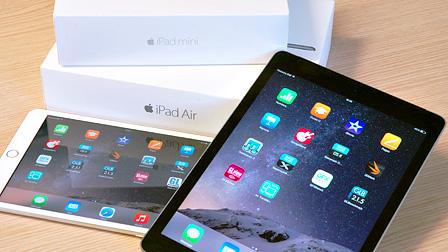Apple iPad Air 2 e iPad Mini 3, i fratelli diversi