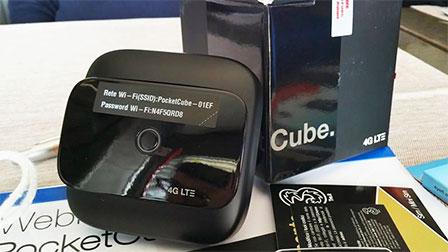 Con il nuovo PocketCube di Tre il 4G arriva a casa come anche in mobilità