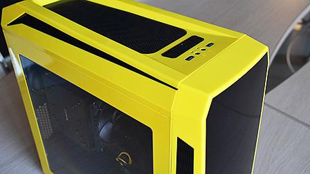 BitFenix Aegis, un case in giallo e nero per spezzare la monotonia