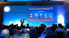 Huawei, nel futuro delle reti con 4.5G a 1Gbps, video 4K e IoT