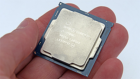 Intel Core i7 7700K: Kaby Lake ora anche per PC desktop