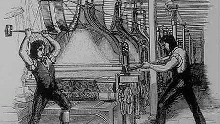 Di macchine che sostituiscono lavoratori umani e di nuovi luddismi