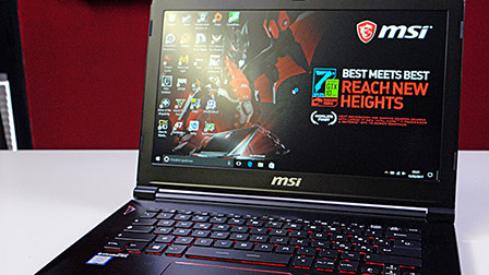 MSI GS43VR 7RE Phantom Pro: piccolo ma potente