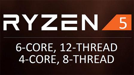 AMD annuncia 4 CPU Ryzen 5: a 6 e 4 core, in vendita da aprile