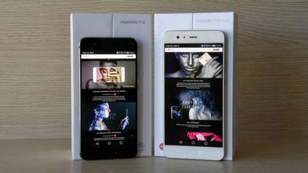 Huawei P10 contro Huawei P10 Plus: i due top di gamma in un confronto diretto