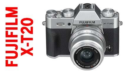 Fujifilm X-T20, compattezza e grandi prestazioni a meno di 1000 Euro