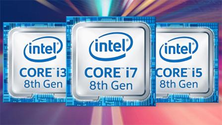 Da Intel i primi processori Core i7 e Core i5 di ottava generazione
