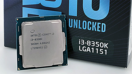 Intel Core i3-8350K: overclocker's dream?