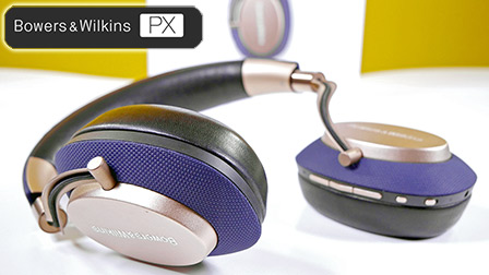 Bowers&Wilkins PX, le prime Noise Cancelling del marchio inglese: la nostra recensione