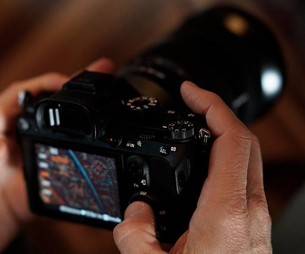 Sony A7 R III con pulsante AF-ON e Joystick per posizionare il punto di messa a fuoco