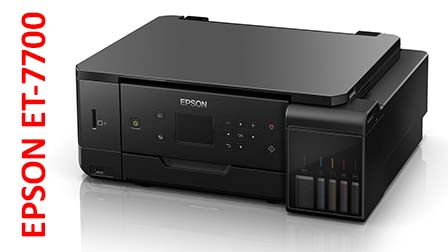 Epson EcoTank 7700, la carica di inchiostro dura 3 anni