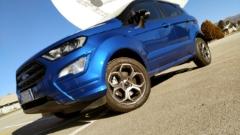 La nuova Ford EcoSport al Centro Spaziale del Fucino