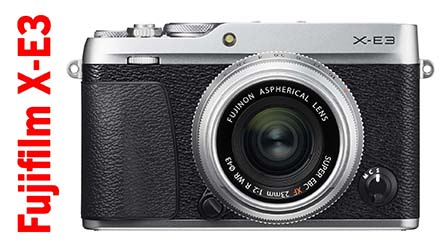 Fujifilm X-E3, la mirrorless compatta adotta il sensore da 24 Mpixel