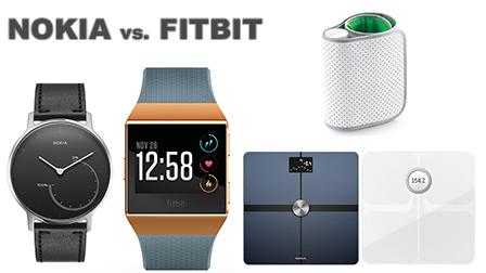 Nokia contro Fitbit: quale ecosistema per tenersi in forma?