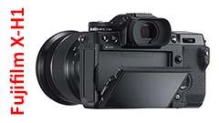 Fujifilm X-H1, la Serie X ha una nuova regina