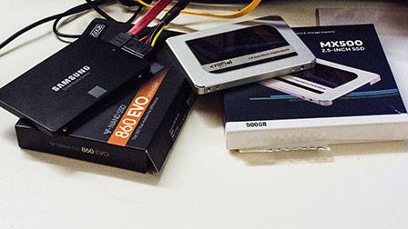 Futuri best seller SSD a confronto: Crucial MX500 vs Samsung 860 EVO