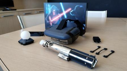 Da Lenovo il primo visore AR che fa combattere come un Jedi