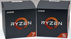 AMD Ryzen 7 2700 e Ryzen 5 2600: seconda generazione a 65 Watt